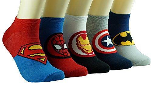 Superhelden und Schurken Niedliche Helden Socken