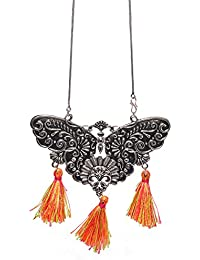 Aamoddhini Party Wear Western Fancy Designer Necklace Set For Women And Girls LN-66