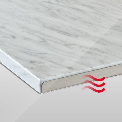 Granotech® Marmor-Infrarotheizung / 800 Watt Carrara Komplettpaket - 3