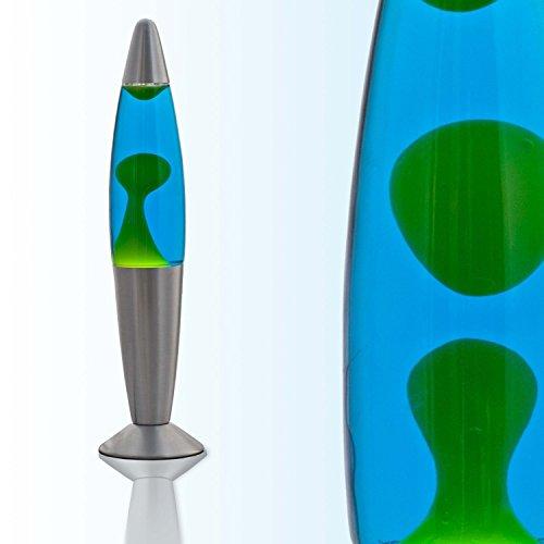 """Lavalampe \""""Jenny\"""" in Blau - Grün / 39cm hoch /inkl. Leuchtmittel / Lavaleuchte für stimmungsvolle Stunden"""