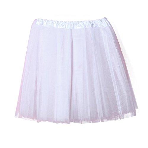 Damen Röcke, DOLDOA Frauen Vintage Elegante Tütü Minirock -