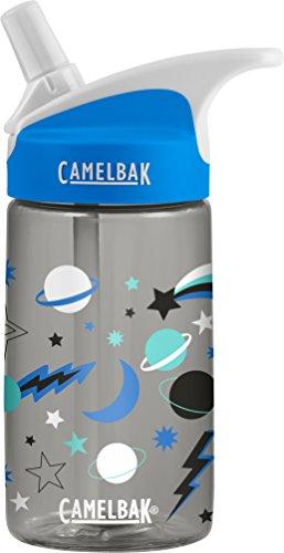CamelBak Niños Eddy Kids 0.4l Botella Botellas de Agua, Infantil, 1579001140, Planets, 400 ml
