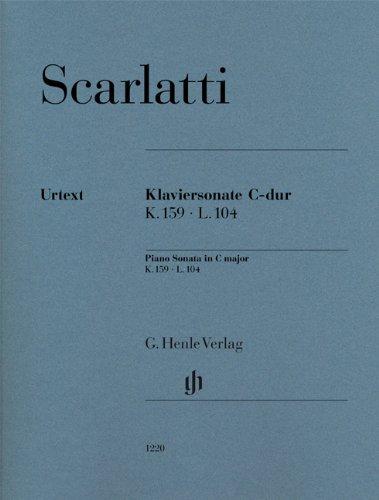 Klaviersonate C-dur K. 159, L. 104