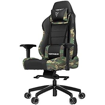 vertagear vg-pl6000Gaming Stuhl schwarz Black/Camouflage X-Large