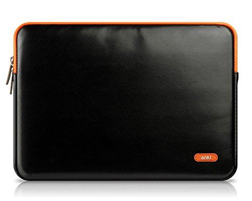 Résistant à l'eau en PU Cuir Pochette Sacoche Housse pour Ordinateur Portable / Netbook / MacBook Pro / MacBook Air