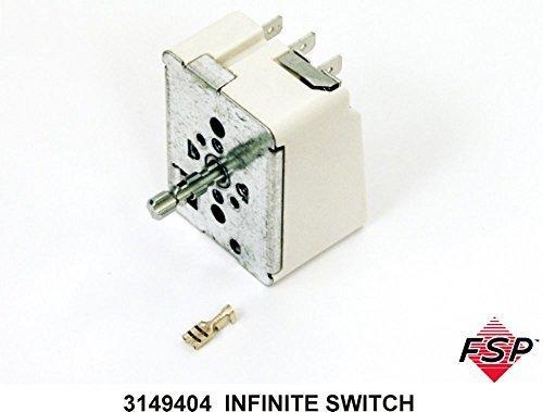 rlpool Range/Ofen/Herd Electric Infinite Schalter-Teil # 3149404 ()