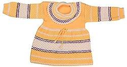 Kuchipoo Girls Regular Fit Sweater (KUC-GHR-116--2-3 Years, Yellow, 2-3 Years)