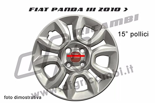 STUKU 4pz 56MM Coprimozzo Coprimozzi Auto Tappi Centrali per Ruote per Jetta 1999-2009 Polo 2002-2015