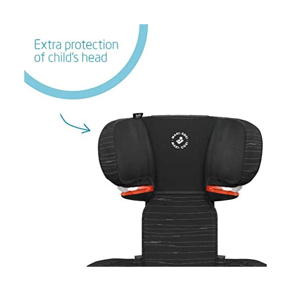 Maxi Cosi RodiFix AirProtect Child Car Seat, ISOFIX Booster Seat, Extra Protection, 3.5-12 Years, 15-36 kg, Scribble Black Maxi-Cosi Booster car seat for children from 15 to 36 kg (3.5 to 12 years) Grows along with your child thanks to the easy headrest and backrest adjustment from the top Patented AirProtect technology for extra protection of child's head 3