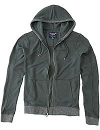 Abercrombie - Homme - Lightweight Full-Zip Hoodie Sweat à Capuche Sweatshirt - Manche Longue