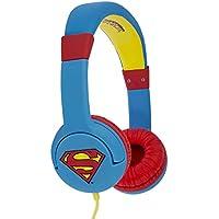 Superman Man of Steel DC0262 - Auriculares de Diadema Cerrados Junior con función de Seguridad de