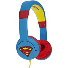 Superman Man of Steel DC0262 - Auriculares de Diadema Cerrados Junior con función de Seguridad de
