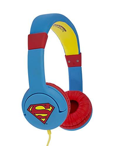 DC Comics DC0292 Superman Man of Steel Casque Traditionnel Filaire