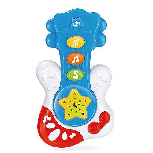 WEofferwhatYOUwant Guitarra Musical Infantil . Juguete para Bebé . Instrumento De Música para Bebés 9 Meses Unisex