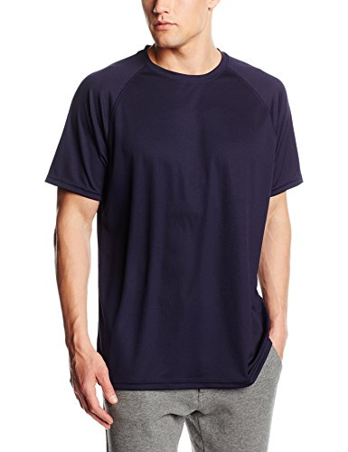 Fruit of the Loom Herren T-Shirt Blau - Blue (Deep Navy)
