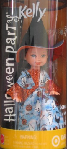 Barbie Kelly Halloween Party Lorena Witch Doll - Target Special Edition (2002) by Barbie (Barbie Halloween Und Kelly)