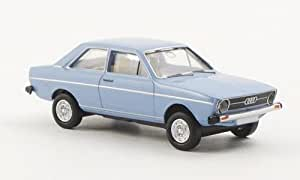 Audi 80 L, bleu clair, voiture miniature, Miniature déjà montée, Brekina Drummer 1:87