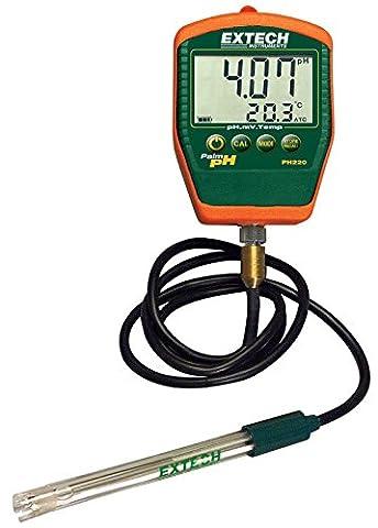 Extech pH-Messgerät mit verkabelter Elektrode, 1 Stück, PH220-C