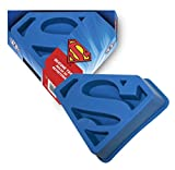 Original Superman Logo Silkonbackform / Eisform