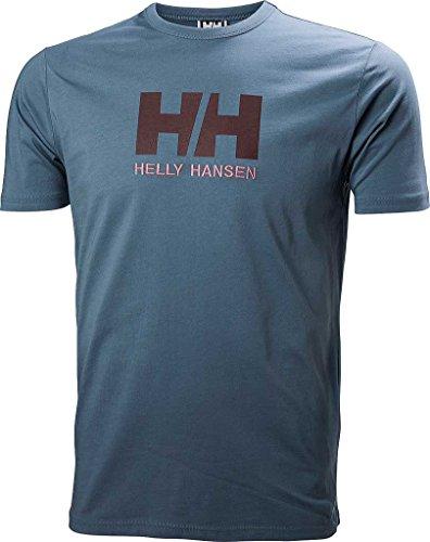 Helly Hansen Herren T-Shirt HH Logo Blau (Blue Mirage)