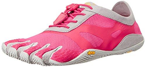 Vibram FiveFingers Damen KSO Evo Outdoor Fitnessschuhe, Mehrfarbig (Pink/Grey), 37 EU