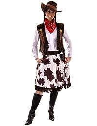 Cowgirl-Kostüm - für Damen