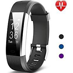 Willful Montre Connectée Femmes Homme Bracelet Connecté Cardiofréquencemètre Montre Intelligente Etanche IP67 Smartwatch Montre Sport Podometre Marche Course à Pied Fitness Tracker pour Android iOS