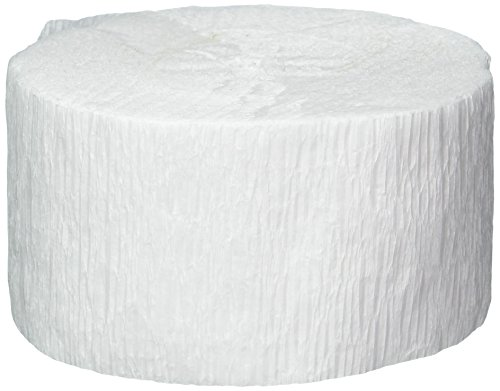 Preisvergleich Produktbild Rolle weißes Krepppapier