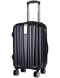 WindTook Maletas viaje cabina 4 ruedas silenciosas 360º PC+ABS Maleta rígida De Negro