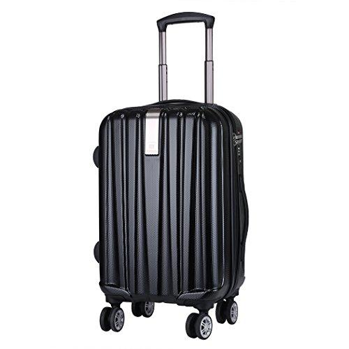 WindTook Trolley viaggio / Bagaglio a mano con 4 ruote Dimensione (360) ABS & PC & TSA Lock /Trolley di Ryanair e Easyjet