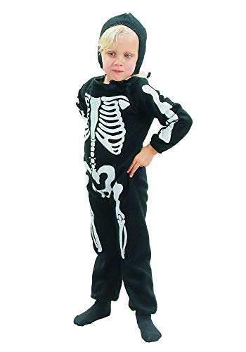 Mr.Giggelz Kinderkostüm - Skelett Junge - Halloween-Kostüm - Karneval Fasching