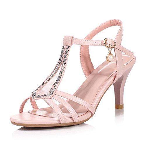Estate moda sandali/Sexy tacchi estate/Diamond in the rough con pattini della signora-A Lunghezza (10 Millimetri Sintetico Perle)