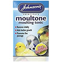 Johnsons Moultone Tonic - Molde para loros y pájaros