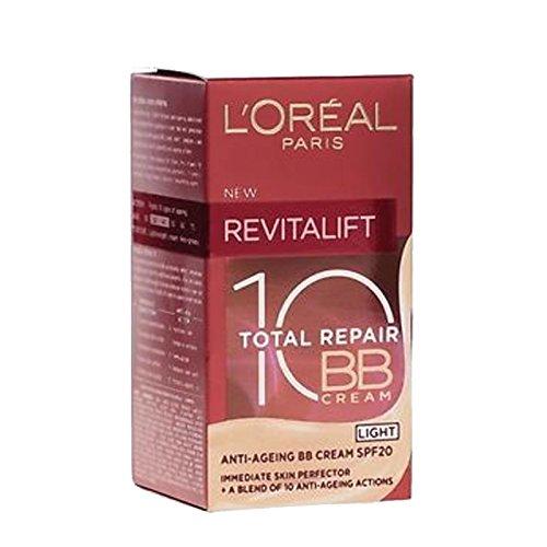 L'Oreal BB Cream Revitalift Repair 10 Light 50ml (English & Arabic Packaging)