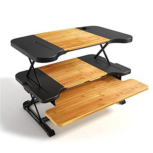 Zhuozi FUFU Tische Stehpult Stehpult Wandelt jeden Schreibtisch sofort in einen Sitz- / Stehpult...