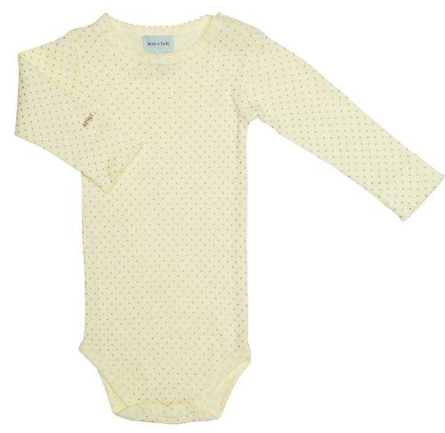 Miniature Baby Girl Body Edda Transparent Yellow, Gr. 80