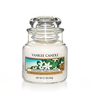 Fleur de tiaré tahitienne Petite bougie Parfumée de Yankee Candle