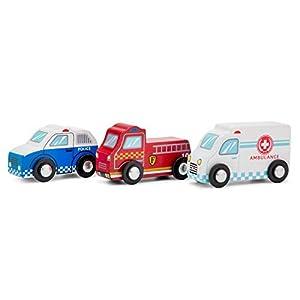 New Classic Toys-11933 Nuevos Clásicos Juguetes-1933-Vehículos en Miniatura-Modelo Individual-Paquete-3 Habitaciones, Color Madera, 1-2 CAS (1933)
