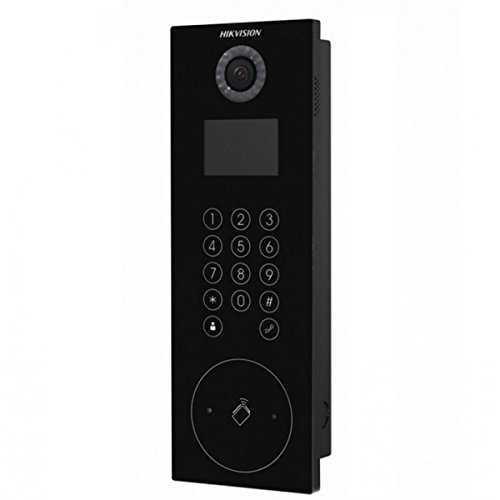 HIK468 - HIKVISION DS-KD8102-V OUTDOOR VIDEO INTERCOM DOOR STATION, 1.3MP CAMERA, TOUCH BUTTONS, H.264 & IP65 W/ 2YR WARRANTY