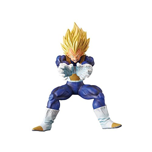 Flash-statue (Banpresto - Figurine DBZ - Vegeta Super Saiyan Super Elite Final Flash 16cm - 3296580270613)