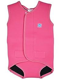 Splash About Costume da bagno in neoprene per neonati, Rosa (Pink Candy), 18-30 mesi