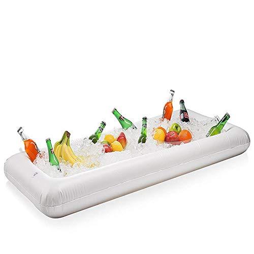 Generic Aufblasbare Float Bier Sommer Wasser Pool Party EisküBel Tablett Essen Trinken Halter 24,5 * 51,5 * 5,5 Zoll