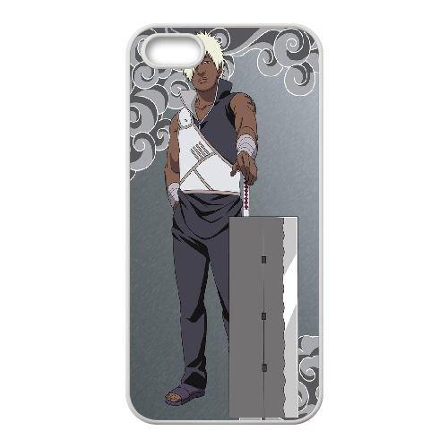 Darui Naruto ShiPpuden coque iPhone 5 5S Housse Blanc téléphone portable couverture de cas coque EBDXJKNBO14559