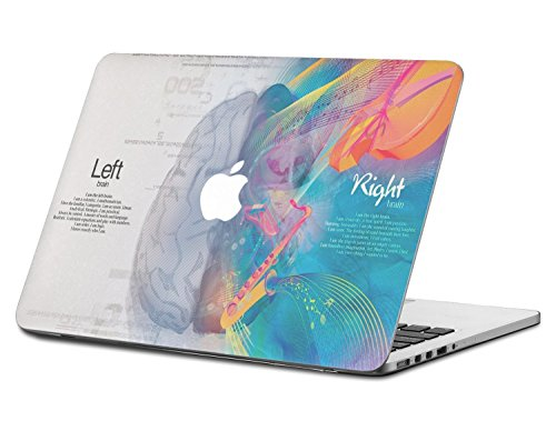 ELTON Skin Cover for Apple MacBook Air (White and Blue)