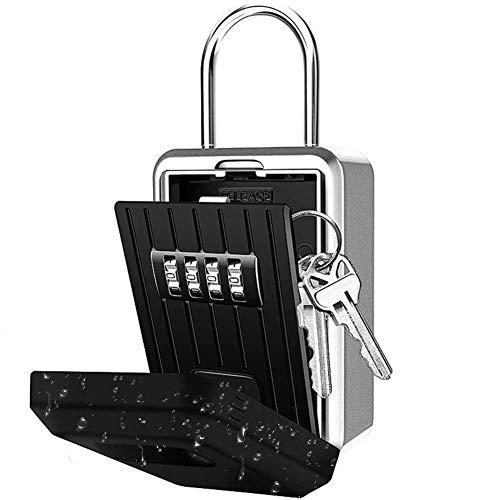ramonde Key Lock Box, Zahlenschloss mit Code für die Aufbewahrung von Hausschlüsseln, Combo Door Locker Key Storage Box -