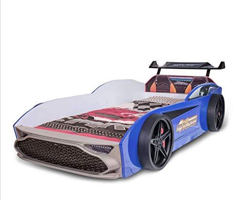 GT18 Kinder Autobett Turbo 4x4 in Blau