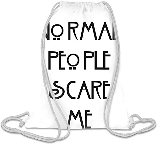 Normal People Scare Me Sac de cordon
