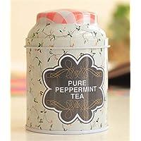 Whyyudan Almacenamiento de té útil Pequeño Almacenamiento portátil del té de la Flor de la Caja