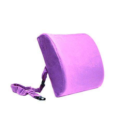 Ergonomisches Design Double Buckle Relief Memory Foam Rückenlehne Taille Kissen Taille Unterstützung Büro Auto Taille Kissen Rücken Sitzkissen (Bund Relief)