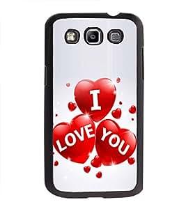 Printvisa Ultra I Love You 2D Hard Polycarbonate Designer Back Case Cover for Samsung Galaxy ...